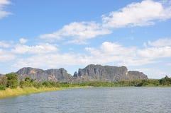 Lac moutian Photo stock