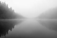 Lac mystérieux image libre de droits