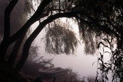 lac mystérieux photo stock