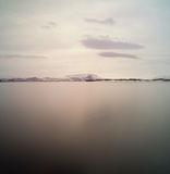 Lac Myvatn en Islande Image libre de droits
