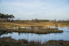 Lac néerlandais photo stock