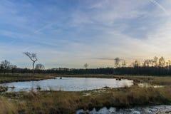 Lac néerlandais photographie stock