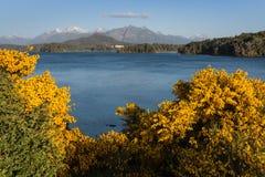 Lac Nahuel Huapi Photographie stock libre de droits