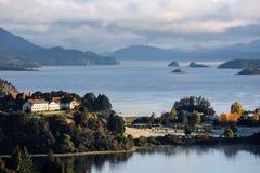 Lac nahuel Huapi, Patagonia, Argentine Photographie stock libre de droits