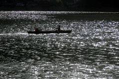 Lac Naini Images libres de droits