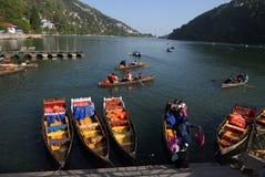 Lac Nainital Images libres de droits