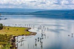 Lac Nakuru National Park, Kenya soda image libre de droits