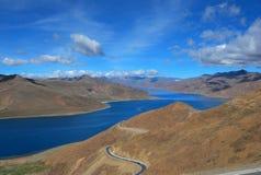 Lac Namtso Photos libres de droits