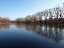 Lac Naturesky Photo stock
