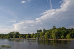 Lac Necko, Pologne, Masuria, podlasie Photo stock
