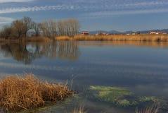 Lac Negovan Images libres de droits