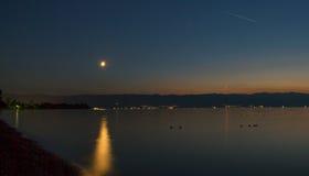 Lac night Photo libre de droits