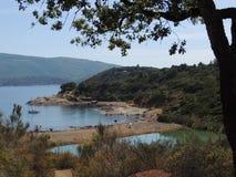Lac noir soil - Elba Island Photo stock