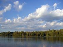 Lac nordique lointain Images stock