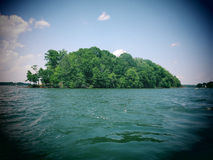 Lac Norman Island Photographie stock