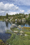 Lac norway Photo stock
