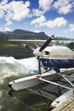 Lac norway avec l'hydravion photo stock