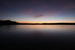 Lac Nouveau Mexique butte d'éléphant photo stock