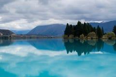 lac Nouvelle Zélande photographie stock