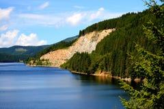 Lac Oasa, Carpathiens Montains, Roumanie Photo libre de droits