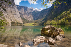 Lac Obersee, Allemagne Photo stock