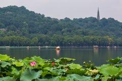 Lac occidental, Hangzhou Image stock