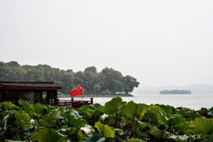 Lac occidental Hangzhou Images stock