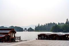 Lac occidental Hangzhou Photo libre de droits