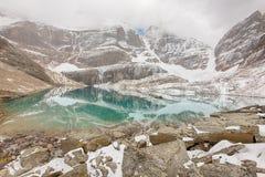 Lac Oesa, Yoho National Park Photographie stock