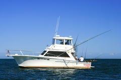 Lac Ontario - bateau Top Gun fishing de sport de charte Photographie stock libre de droits