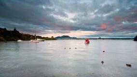 Lac orageux Images libres de droits