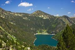 Lac Oredon en France Photo stock