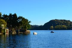 Lac Orta Images libres de droits