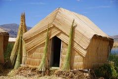 Lac Pérou Titicaca images libres de droits