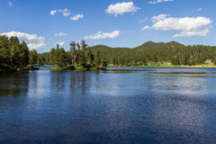 Lac paisible Image stock