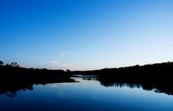 Lac paisible photo libre de droits