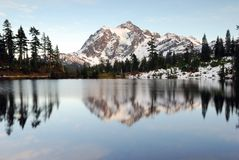 Lac paisible picture image stock