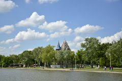 Lac Palic, Subotica Serbie Photographie stock