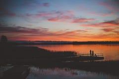 Lac Paluse Photo libre de droits