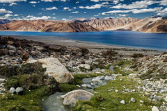 Lac Pangong Photo stock