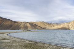 Lac Pangong Photo stock