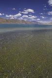 Lac Pangong dans Ladakh, Inde Images libres de droits