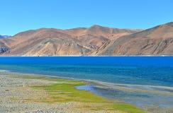 Lac Pangong dans Ladakh, Inde Photo stock