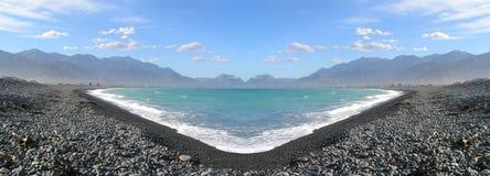 Lac panorama image stock