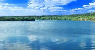 Lac panoramique photo libre de droits