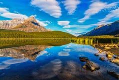 Lac park de Natoinal de Canada Photos stock