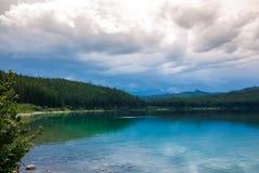 Lac patricia en jaspe Image libre de droits
