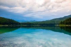 Lac patricia en jaspe Images libres de droits