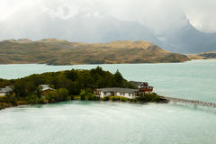 Lac Pehoe - Torres Del Paine National Park - Chili Photo stock