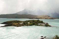 Lac Pehoe - Torres Del Paine National Park - Chili Image libre de droits